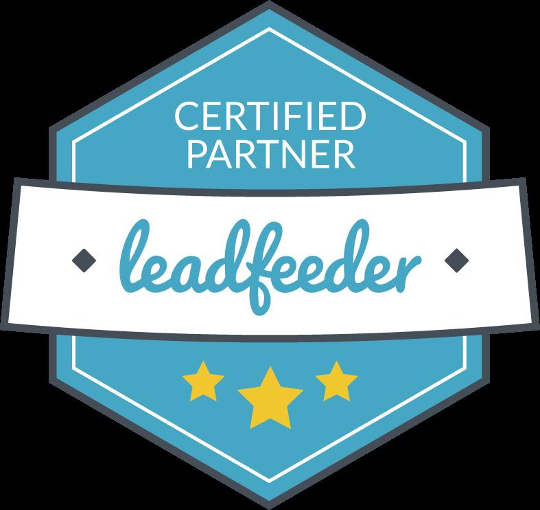 Leadfeeder Certified Partner